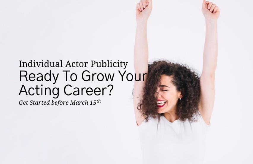 Actor Publicity Promo Photo